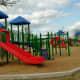 Children's playground in Goforth Park