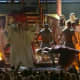 Nikki Minaj levitates at the public Black Mass at the 2012 Grammy Awards.