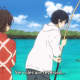 """When you need your kid to take fish off your fish hook. From """"Barakamon"""""""