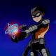 Robin as Slade's apprentice