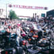 Sturgis, Main Street. Can you spot the Knucklehead?