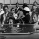 President Kennedy And Jackie Kennedy Before The Shots Were Fired.