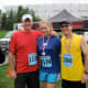 Our gang post race