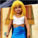 """This little prosti-tot was dressed up to look like a little """"Pretty Woman"""" for a pageant shown of Toddlers and Tiaras."""