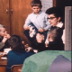 """Elliot with her class in the 1970 documentary """"Eye of the Storm."""""""
