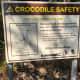 Crocodile warning