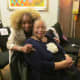 Claudette takes a quick photo with Susie Carter her dearly beloved mother-in-law who desperately misses her son Walker. Susie continues to demonstrate the hope of the resurrection that one day she will see her son again.