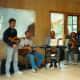 Contra dance musicians
