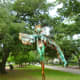 "Amazing ""Marcella"" sculpture by Sharon Kopriva in True South sculpture exhibit Houston"