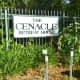 The Cenacle Retreat House Sign at Entrance