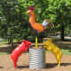 """'El Gallo Monument' by the late Bob """"Daddy-O"""" Wade"""