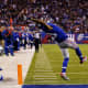 Wide receiver Odell Beckham Jr's main job is to go out and catch passes thrown to him.