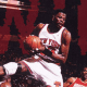 Patrick Ewing's amazing rebound.