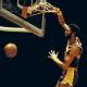 Kareem Abdul-jabbar's simple yet powerful one-handed dunk.
