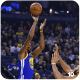 Kevin Durant making a jump shot.