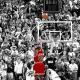 A buzzer-beater Michael Jordan made to steal a win against their rival team, Utah Jazz.
