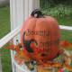 Pumpkin on my front porch.