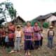 A Maya family in Guatemala in 1993.