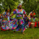Garifuna dancers in Belize.
