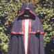 This cloak has an extra piece that gives more warmth and weather protection to the shoulders.