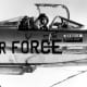 Chuck Yeager in the cockpit of an NF-104, December 4, 1963.