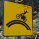 I love it when people decorate road caution signs. Someone used to put Rudolf-nose stickers on all our deer crossing signs in PA.