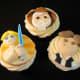 Luke, Obi Wan, Han Cupcakes by Melissa Smith aka Zoeycakes on Flickr.com