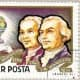 Montgolfier brothers balloon postage stamp