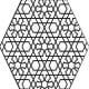 Geometric Design Colouring Pictures Stained Glass Colouring Pages to Print and Colour - Buttons and Badges