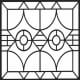 Geometric Design Colouring Pictures Stained Glass Colouring Pages to Print and Colour - Priests at Prayer