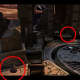 After the cutscene ends, pan left and check these spots...