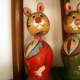 Wooden Dolls at Seethammadhara in Visakhapatnam