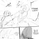 Ishida's joke manga about Kaneko and Sachiko [Page 3].