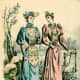 1892: France Mode Victorian womens fashions