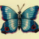 Butterfly pictures: Blue butterfly