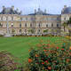 The Palace and lawns of the garden. Always try to include some foreground interest when taking photographs of this kind