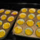 Bake  20 minutes at 350 degrees for muffins, or about 30-40 minutes for bread.