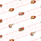 Victorian Mother's Day scrapbook paper -- white background with scrollwork