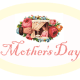 """Free yellow Mother's Day scrapbook embellishment """"Mother's Day"""""""