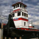 Tulsa Attractions: The well-respected tugboat at the Port of Catoosa