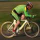 A Sherwood CC rider aboard an Austrailian Teschner Time Trial frameset