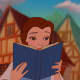Defenseless Belle, reading a book aloafly and ignoring the sub-tense atmosphere