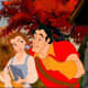 Gaston breaks the cycle and initiates the conversation with Belle