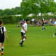 Boy's Team of Soccer in Cullen Park