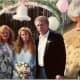 My mom, me and my stepdad at my wedding