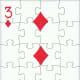 3 of diamonds