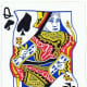 queen of spades clipart