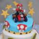Super Mario Kart Birthday Cake