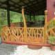 Dancing bamboo railing.