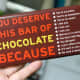 There are many reason to give chocolate gift. But, is it really you need a reason?